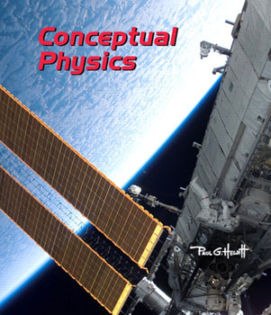 Cover of Hewitt, Conceptual Physics, 11th edition