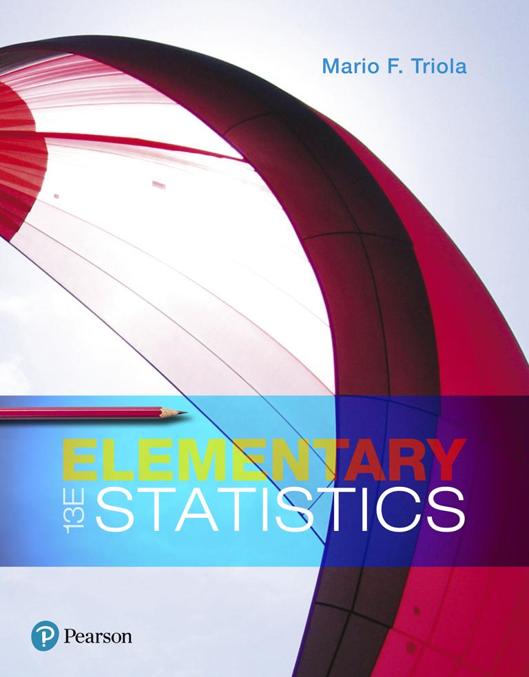 Elementary Statistics, 12th Edition