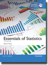 Essentials of Statistics, 5th Edition, Global   Edition
