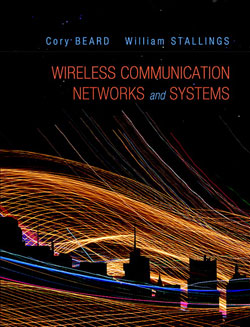 cover to Beard/Stallings, Wireless Communication Networks and Systems, first edition